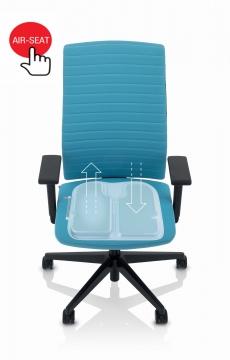 Köhl Tempeo Wave bureaustoel met airseat
